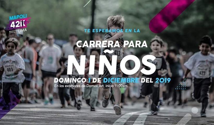 Carrera para Niños Lima 2019