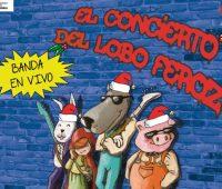 Ayepotámono TeatroEl Concierto del Lobo Feroz - Navidad