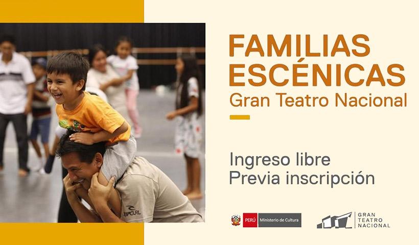 Sábados en Familia en el Gran Teatro Nacional