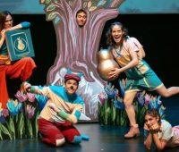 La Pera de Oro, teatro infantil, universidad del Pacífico