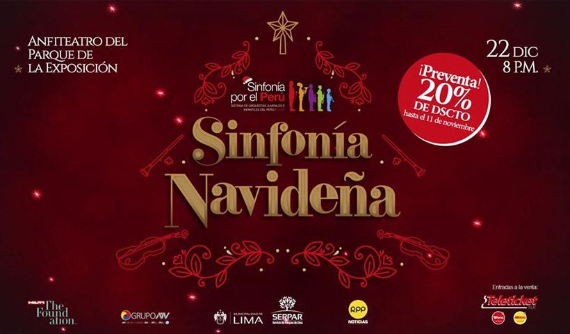 """Sinfonía por el Perú - Concierto """"Sinfonía Navideña"""" de Sinfonía por el Perú"""