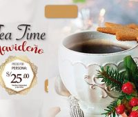 Tea Time Navideño en el Thunderbird Hotels Perú