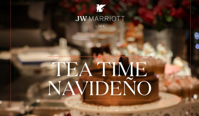 Tea Time Navideño en el JW Marriott Hotel Lima