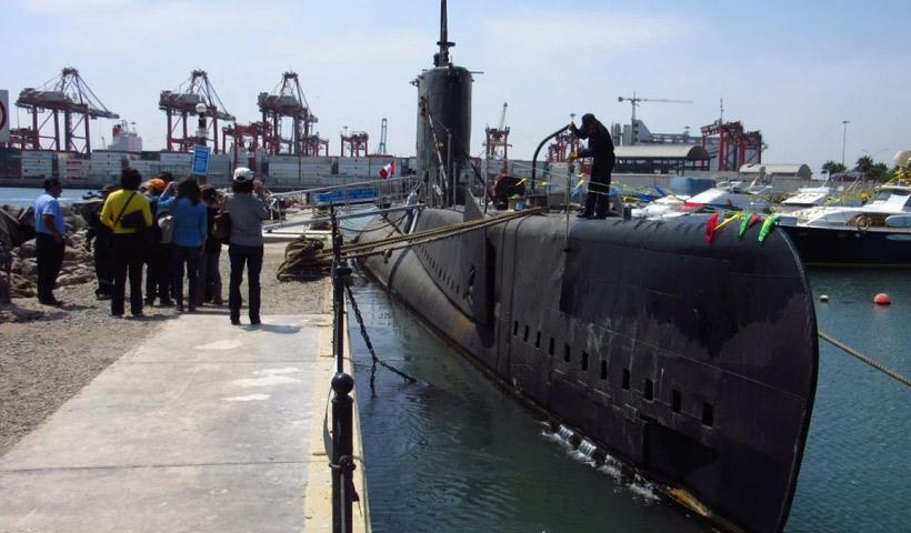 Museo de sitio submarino Abtao del Callao