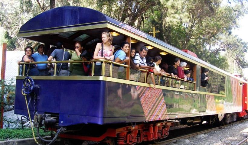 Viajar con niños en tren de Lima a Huancayo