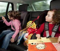 Consejos para Viajar en Auto con Niños
