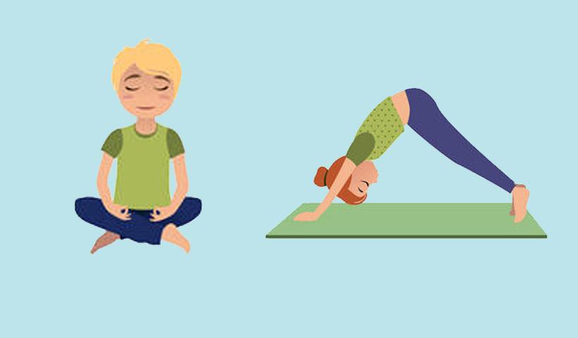 Yoga: posturas más populares para niños