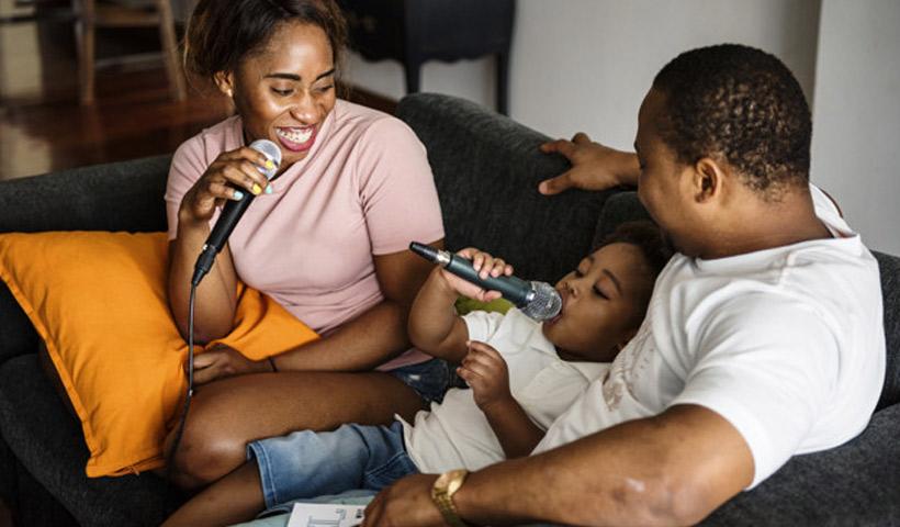 Canciones mudas en familia