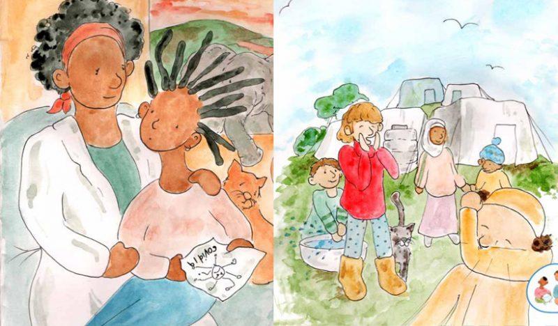 Cuentos infantiles para ayudar a niños a entender la pandemia de COVID-19