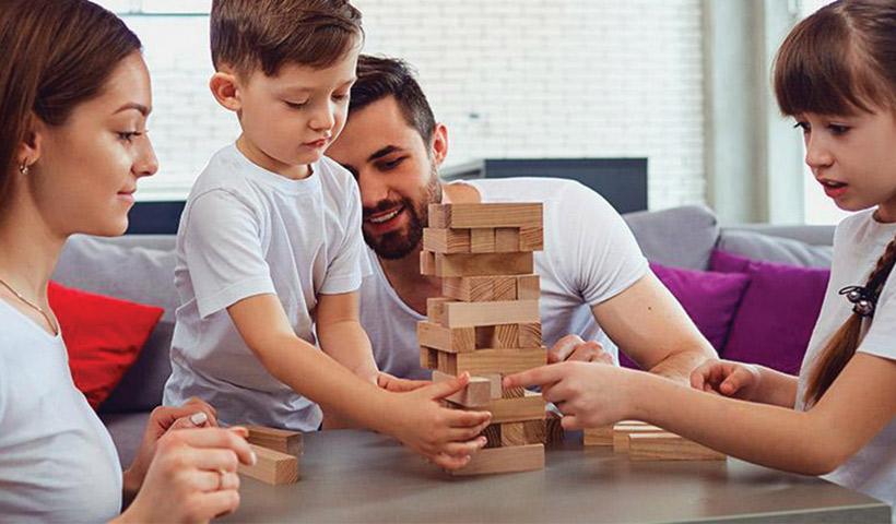 Juegos en Familia en casa