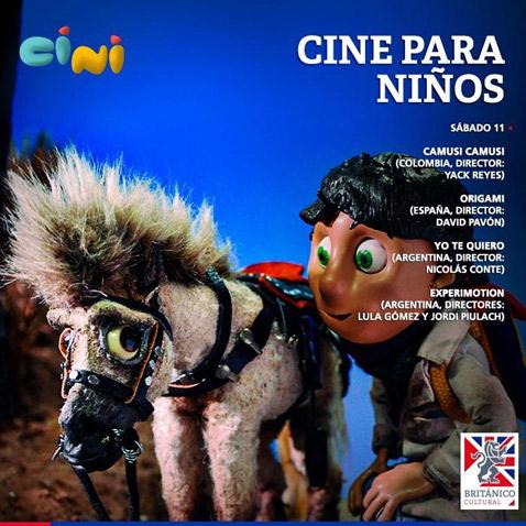 Festival de Cine para niños! en el Británico
