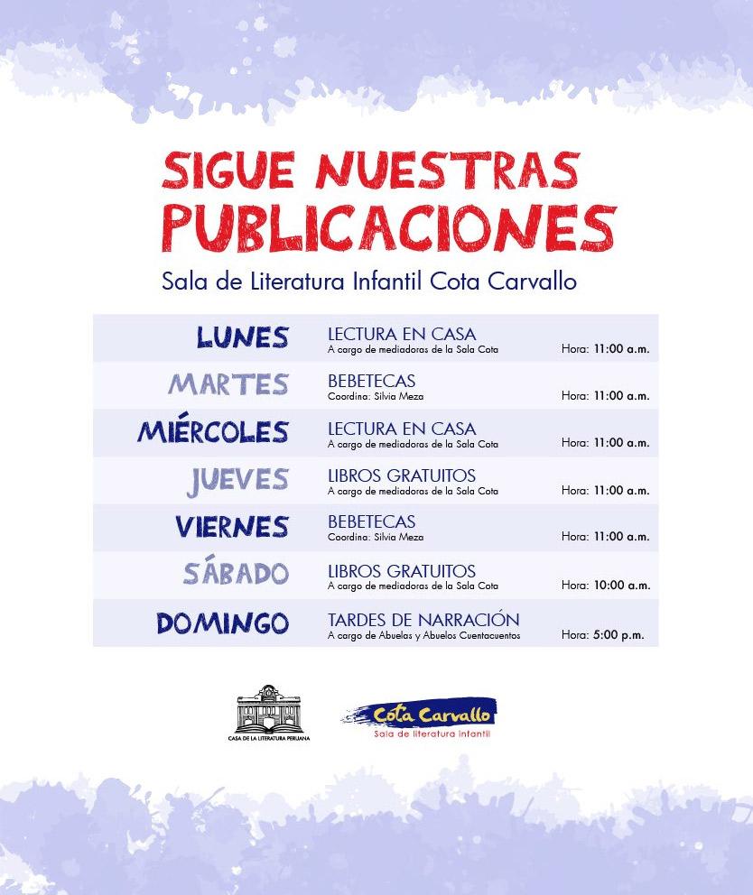 Sala de Literatura Infantil Cota Carvallo, Casa de la Literatura Peruana.
