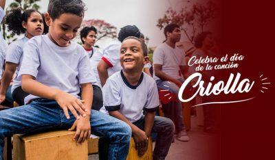 Celebra el Día de la Canción Criolla con niños en casa