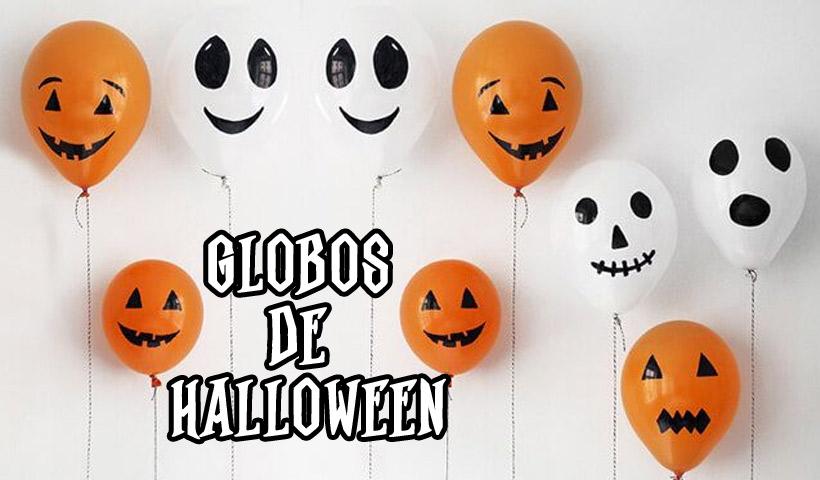 Globos de Halloween para decoración en casa