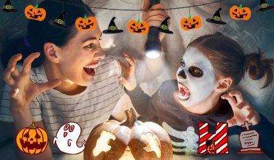 Ideas para celebrar la noche de Halloween con niños en casa