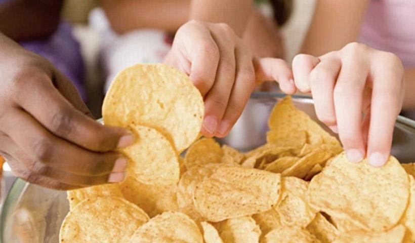 Snacks para el partido de fútbol