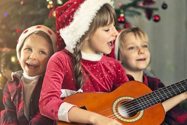 Karaoke navideño en casa
