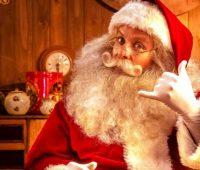 Llamada de Papá Noel para niños