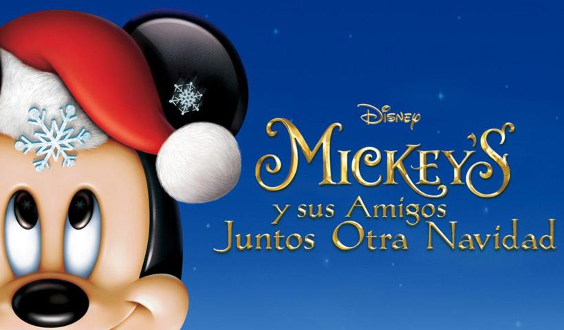 Mickey's y sus amigos juntos otra Navidad
