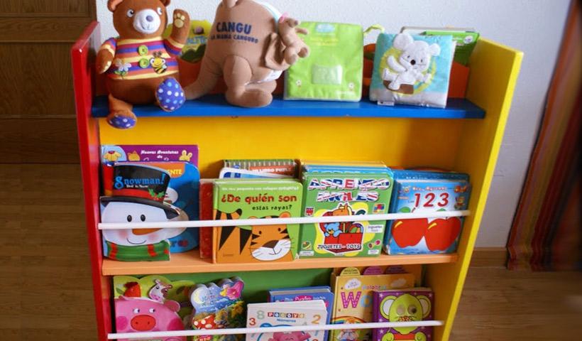 Biblioteca Infantil en casa
