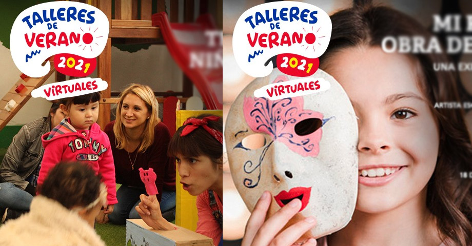 Talleres de Verano 2021 - Talleres virtuales online
