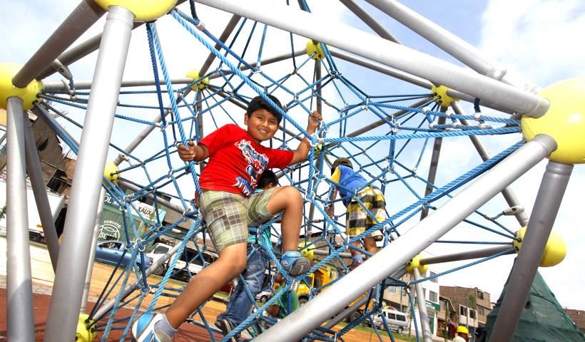 Actividades en parques zonales para niños