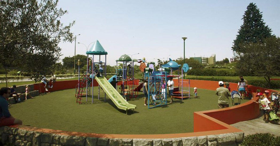 Parque de la felicidad o El Pentagonito de San Borja